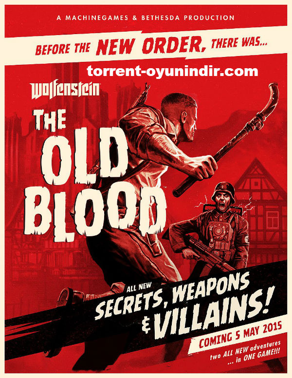 Wolfenstein The Old Blood indir