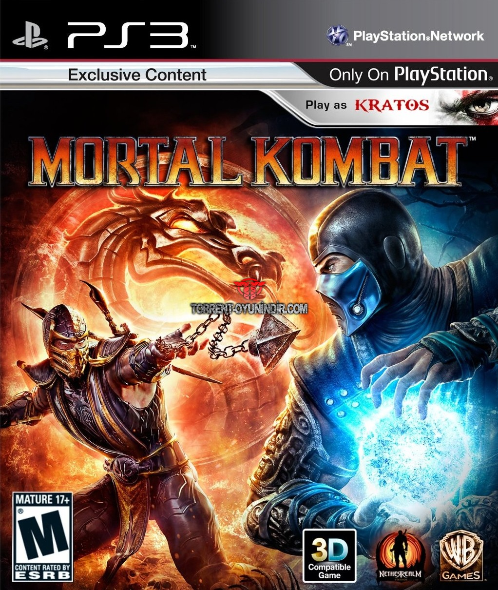 Mortal Kombat x PS3 indir