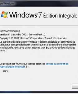 Win7 sp1 x64 all versions FRENCH