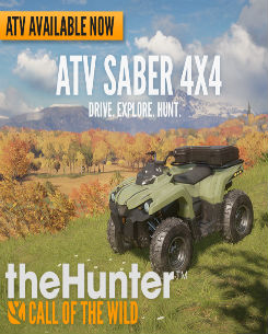 theHunter Call of the Wild – ATV SABER 4X4 İndir
