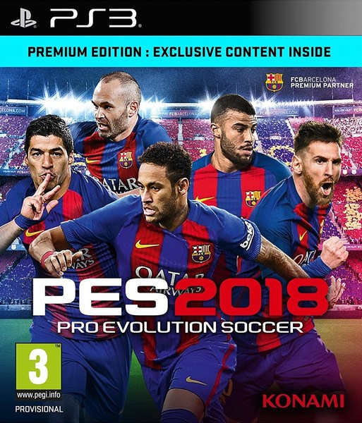 Pro Evolution Soccer 2018 PS3 İndir