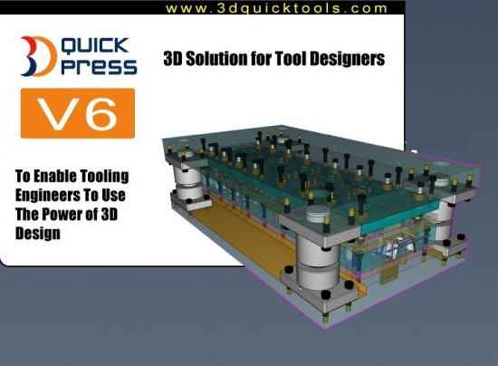 3DQuickPress for SolidWorks HotFix only İndir – Full v6.3.2